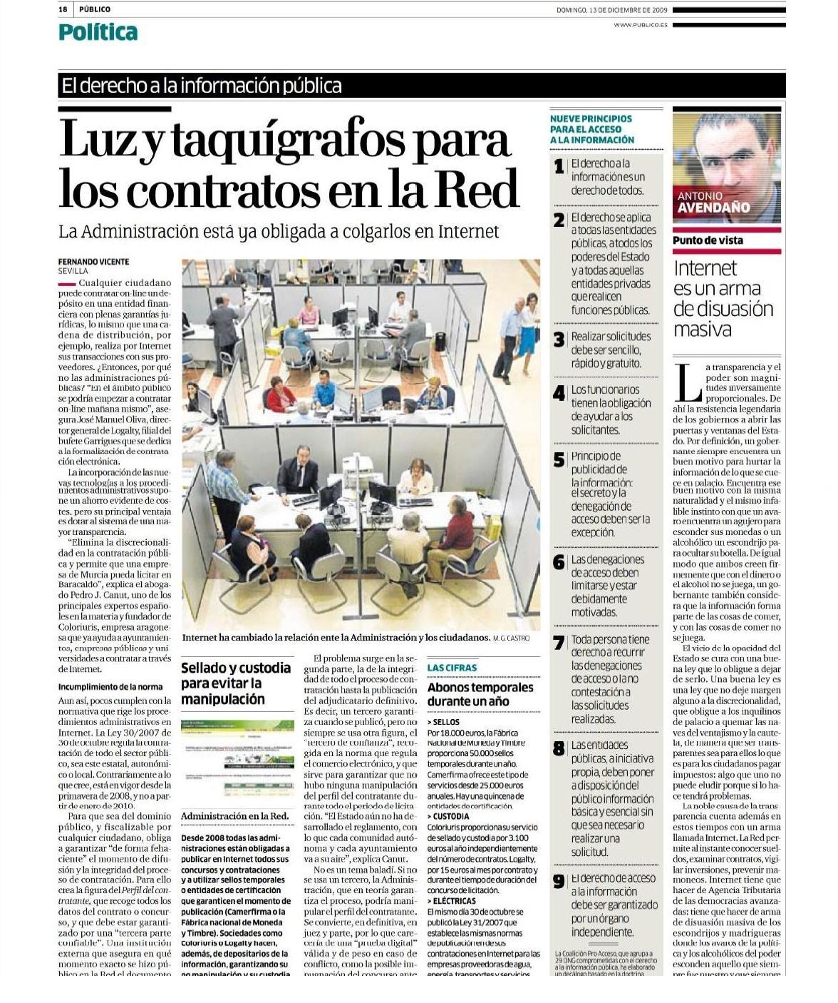 (c) F. Vicente y Público