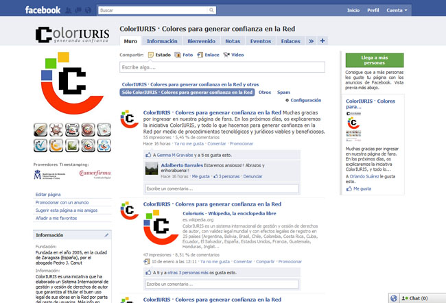 Facebook ColorIURIS