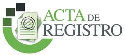 Acta de Registro